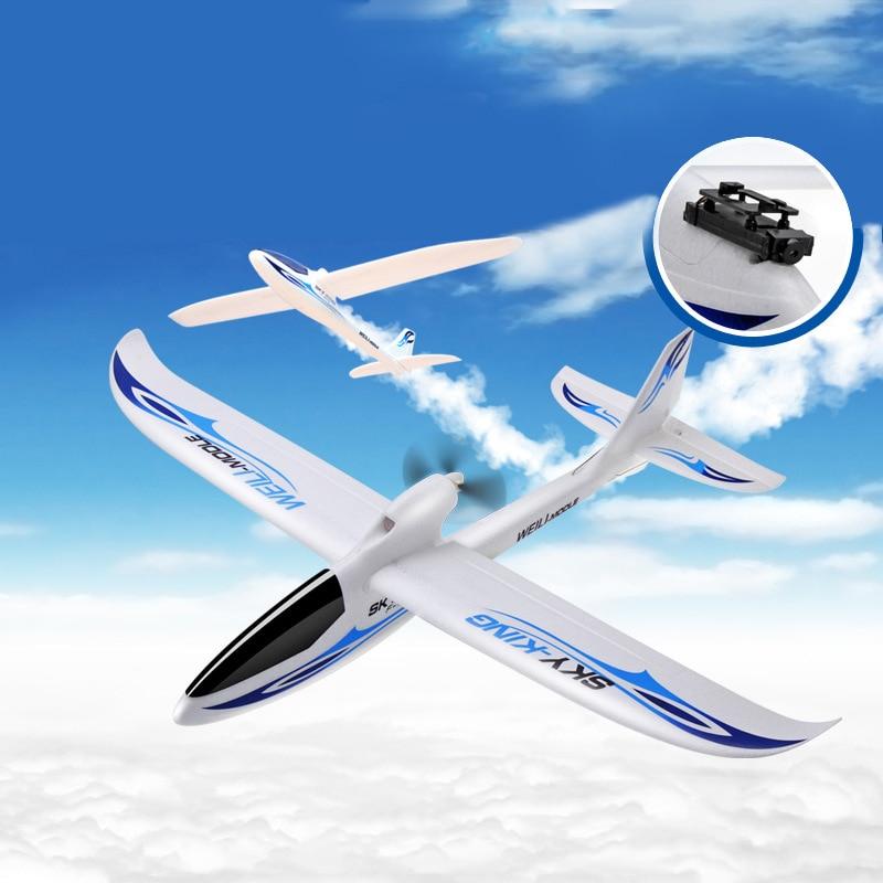 F959 Sky короля 3 канала RC гул самолета Push-Скорость планера с неподвижным крылом самолет дистанционного Управление самолет