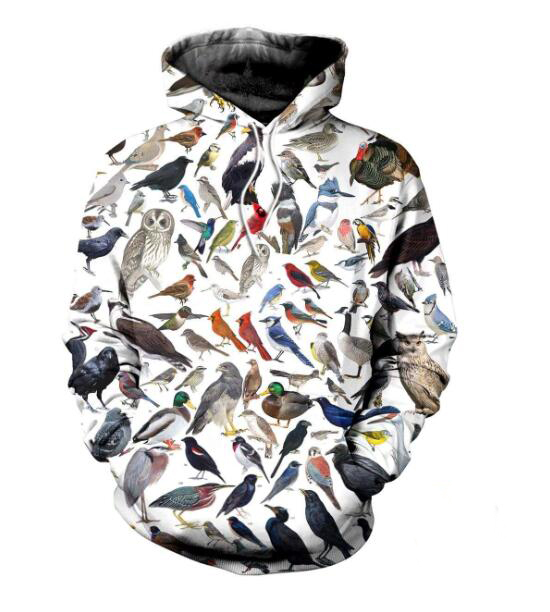 Birds 3D All Over Printed Clothes