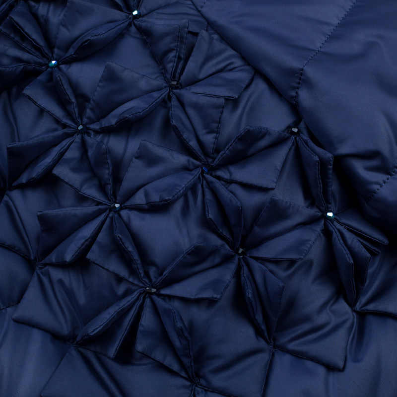 2016中期ロングダウンコート女性ファッション高品質の高級大型毛皮の襟肥厚