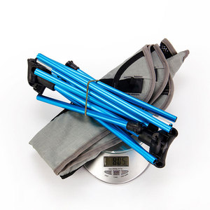 Image 4 - נייד מושב קל משקל דיג כיסא אפור קמפינג שרפרף מתקפל חיצוני ריהוט גן חדש Al נייד קל במיוחד כיסאות