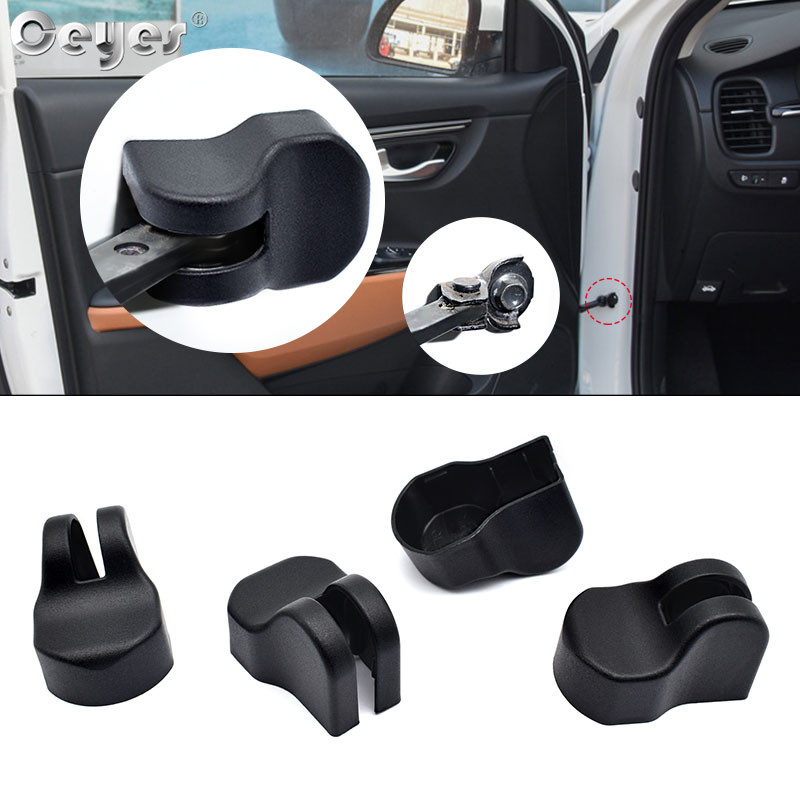 Ceyes Car Arm Limiting Stopper Covers Styling Case For Kia Sportage Rio Forte Sorento Soul K2 K3 K4 K5 Stickers Auto Accessories