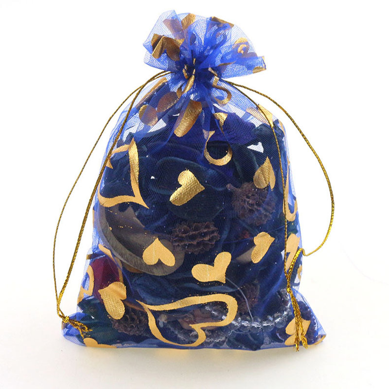 royal blue-gold heart