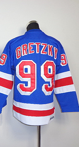 check out e08fe 5f917 99 Wayne Gretzky Kids Youth Classic Vintage Home Blue ...