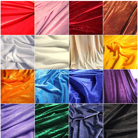 FFLACELL Gold Velvet Fabric Tablecloth Fabric Conference Curtain Decoration  160cm Wide Thick Black Background Red Cloth