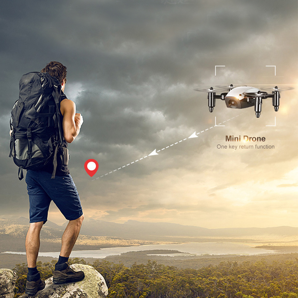 WIFI FPV Mini Drone with Camera 2.4G 4CH 6-axis RC Quadcopter Nano Drone RC WIFI FPV Drone Phone Control Toy Christmas gift 12