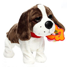 New Baby Early Education Toys Sound Control Move Electronic Toys Dog Plush Dog Interactive Toys Children Brithday Gifts(China)