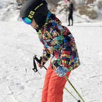 Winter Cheap Ski Jacket Kids Ski Suit Set for Girl Boys Snowboard Jackets Snow Pants Children Waterproof Warm Ski Enfant