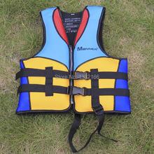 Free shipping professional beach rubber boat inflatable life vest Children's life jackets  school swim vest / foam swimsuit