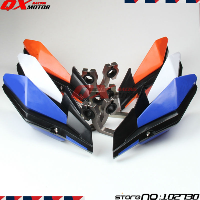 Motorcycle Handlebar handguards Hand Guards Fit CRF KTM YZF RMZ KLX Motocross ATV Dirt Bike Off Road Supermoto Free Shipping заслуженный коллектив россии академический симфонический оркестр филармонии л кремер