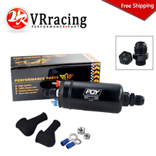 VR – FREE SHIPPING External EFI 380LH 1000HP TOP QUALITY PQY Fuel Pump E85 Compatible 044 style New WITH PQY BOX VR-FPB003-QY