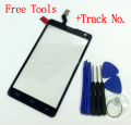 Free shipping Touch Screen Digitizer Repair Part For Optimus L9 II D605 Black/white