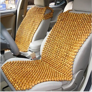 Fragrant Wood Beads Cushion Handmade Wooden Bead Car Seat Summer Liangdian Logs Of Fragrance