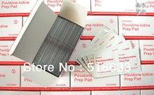 Высокое качество антисептические тампоны повидон-йод подготовительной площадкой для дома/аптечка Бесплатная доставка 100 шт./лот