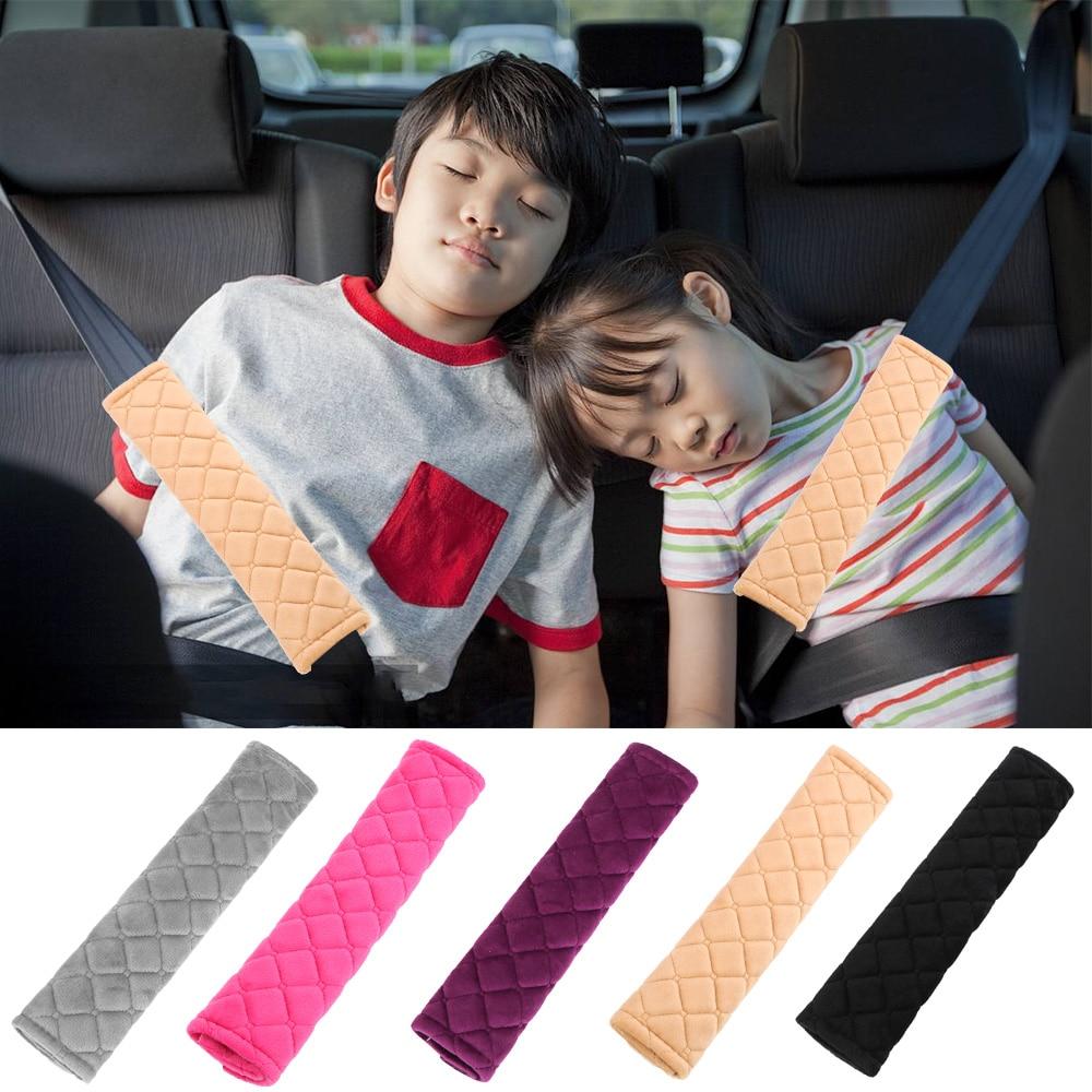 2pcs Car Seat Covers Belt Shoulder Pad Harness Shoulder Protection Strap Cover