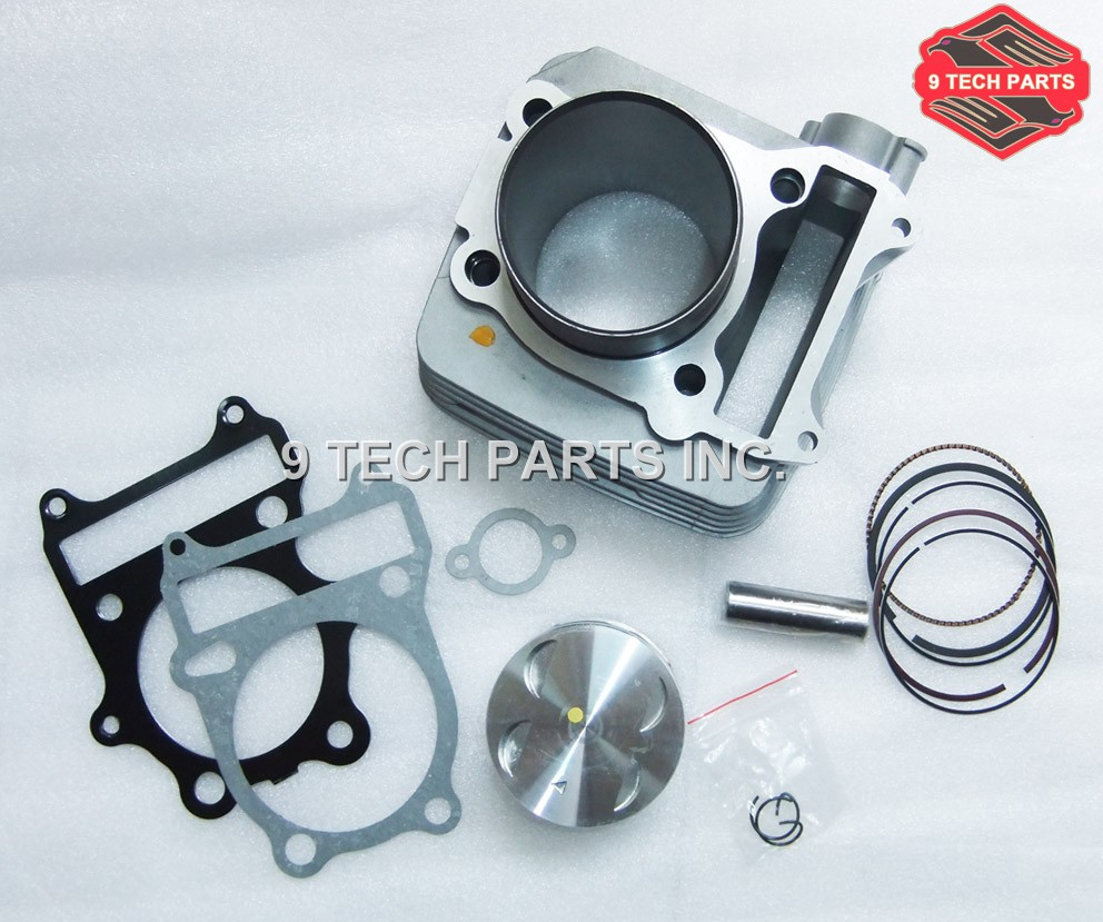 CYLINDER KIT WITH PISTON RINGS 72mm Bore OEM 11210-38202 համար GN250 DR250 DF250 GZ250 LT250 249CM3