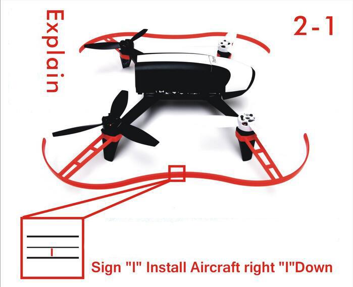 Propeller Guard Props Bumper for Parrot Bebop 2.0 RC Drone Quadcopter Parts