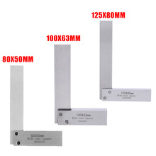 New Machinist Square Rulers 90 Degree Right Angle Ruler Engineer Precision Ground Hardened Steel Measure Tools