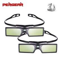 2 pcs/lot G15 DLP DLP Link lunettes 3D volet actif lunettes 3D pour Optoma Sharp LG Dell Acer BenQ Vivitek dlp link projecteurs