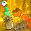 Coversage ночник 3D туннельное зеркало новая звезда декоративная спальня настольная Лампа Рождественская елка на батарейках освещение украшени...
