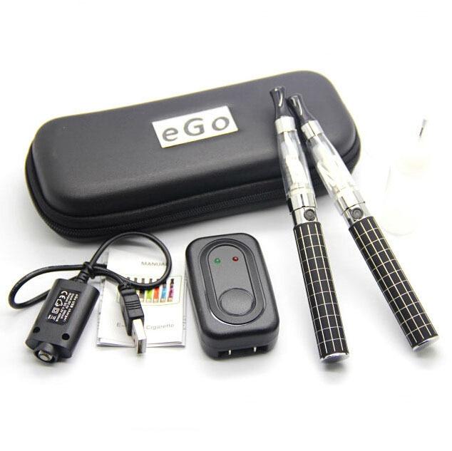 CE4 Zipper Starter DOUBLE KIT Electronic Cigarette Ego-k Ego King Battery for Ego K Electronic Cigarette E-cigarette E-cig Kits