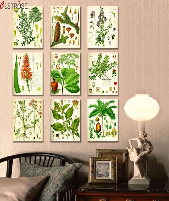 CLSTROSE Malování na plátno 9dílné plátno Nástěnné umění Velké obrázky pro dekorace do obývacího pokoje Postel Čalounění obrazu Ovoce
