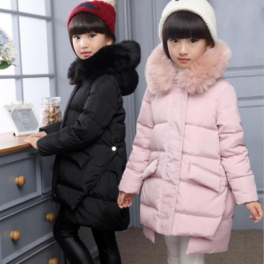 2016 children girls white duck Down jackets and coats /Parkas hooded kids fashion outwear winter ski warm clothes 5 colors kids clothes children jackets for boys girls winter white duck down jacket coats thick warm clothing kids hooded parkas coat