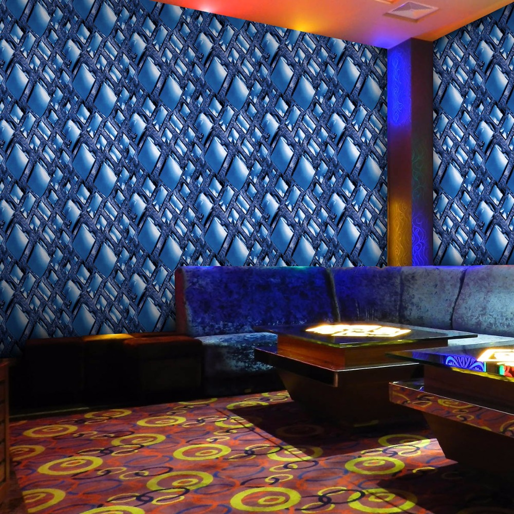 Diamond reflective 3d wallpaper,Modern PVC Waterproof wallpaper roll for ktv ,livingroom,bar,tv ,store, mural Papel de parede