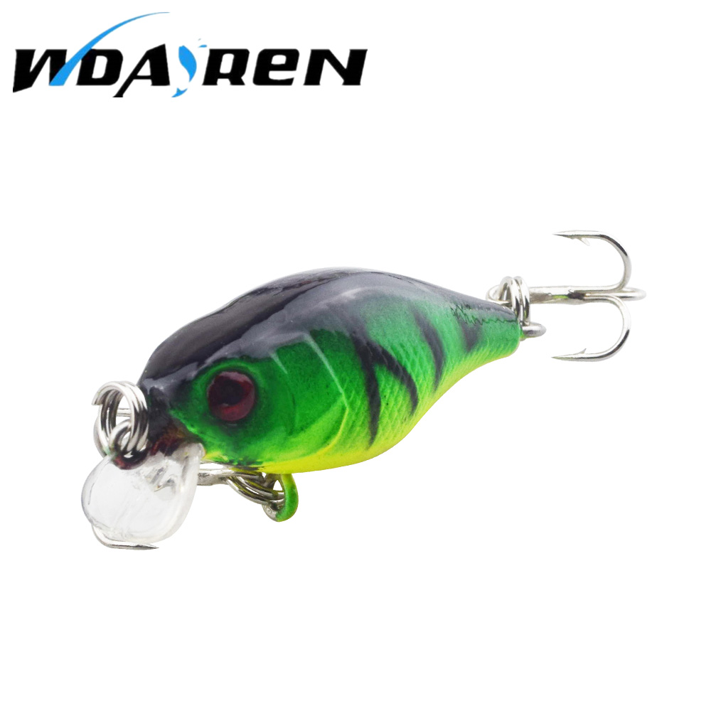 Hot Sell 4.5G 4.3CM Bass Fishing Lures Crank Bait Tackle Swim bait wobblers fishing japan Hard Crazy Fish Lure FA-313 2016 hengjia 10pcs crankbait wobblers hard fishing tackle 14g 10cm swim bait crank bass bait fishing lures jerkbait cb031