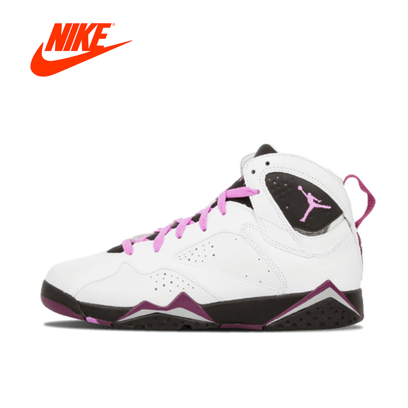 купить Original New Arrival Authentic Nike Air Jordan 7 Retro GG7 AJ7 Women's Basketball Shoes Sneakers Sport Outdoor Good Quality по цене 5031.82 рублей