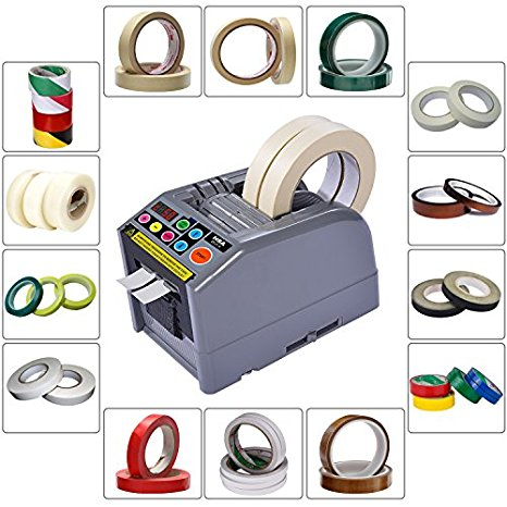 ZCUT-9 горячая распродажа Автоматический распределитель ленты/широкий 60 мм лента резки 2 рулона одновременно распределитель ленты