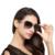 HDCRAFTER Марка Элегантная Мода Дамы Солнцезащитные Очки Женский Larged Оправе Поляризованный Óculos De Sol Открытый Очки Аксессуары
