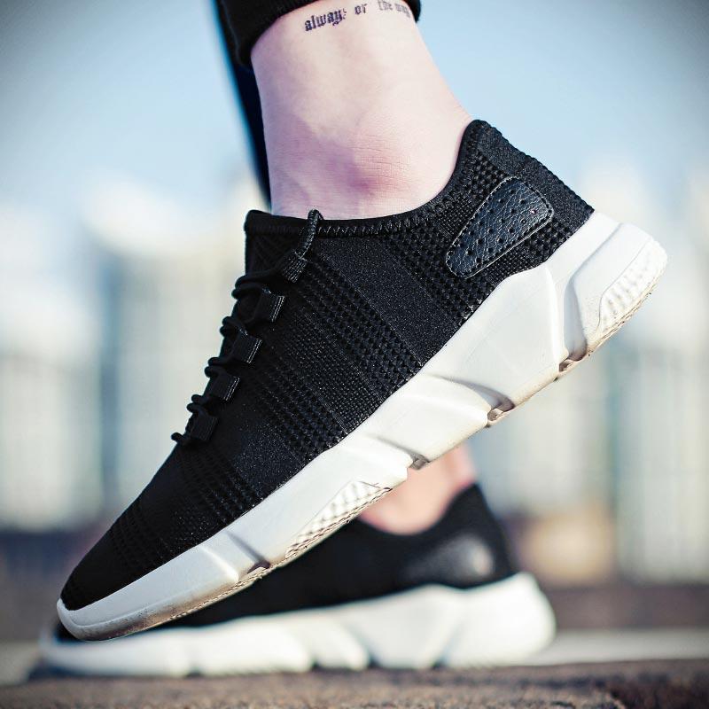 Summer Mesh Training Shoes Men Sneakers For Running Shoes Sport Men's Sports Shoes Gym Black Deportivas Hombre Krasovki B-278