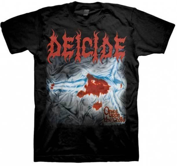 Deicide Einmal Auf Die Kreuz Abdeckung T Shirt S M L Xl 2xl Nagelneuer