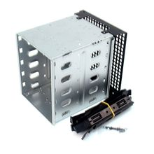 Stainless Steel HDD Cage Rack SAS For Computer SATA Hard Drive Cage Large Capacity 5x 3.5