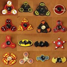 Fidget Spinner Darth Vader Batman Shape Captain Deadpool Flash DC Heroes Spider man Iron man Superman