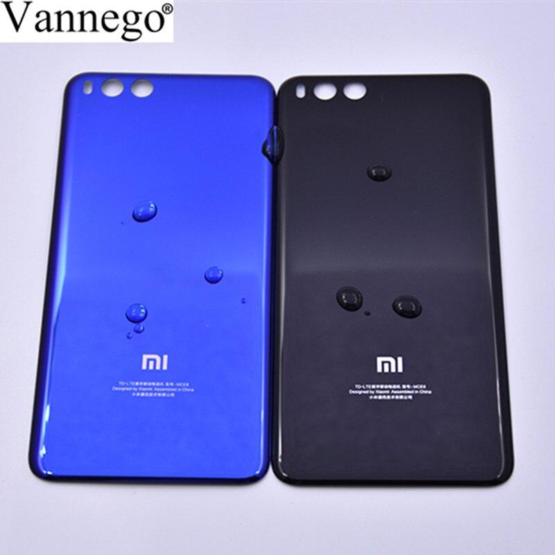 Vannego d'origine Logement Arrière Pour Xiaomi Mi note3 mi note 3 Couverture Arrière En Verre Remplacer Batterie De Remplacement Porte Cas