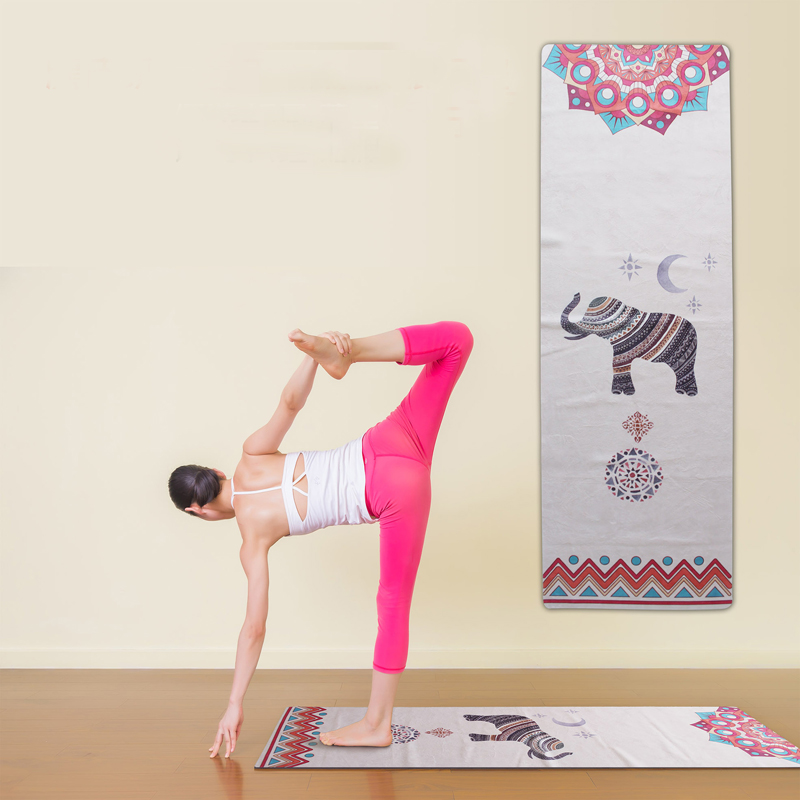 1830*610*1MM Yoga Mat Fitness Rubber Pad Foldable Ultra-thin Non-slip Portable Yoga Blankets Suede Mat Towel аксессуар защитное стекло для samsung galaxy a5 2017 a520f svekla full screen gold zs svsga520f fsgold