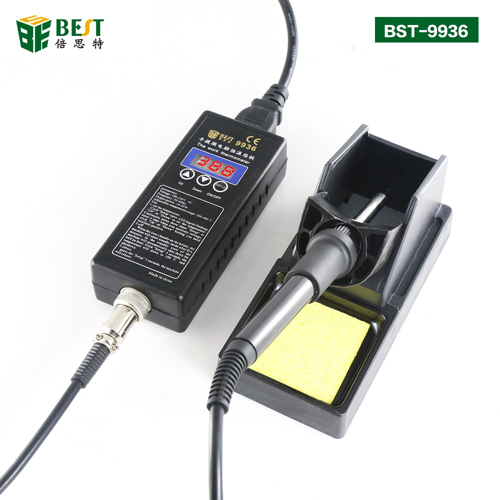 Portable Micro PC Control ESD Safe Constant Temperature Electronic Soldering Iron For Cell Phone Repair