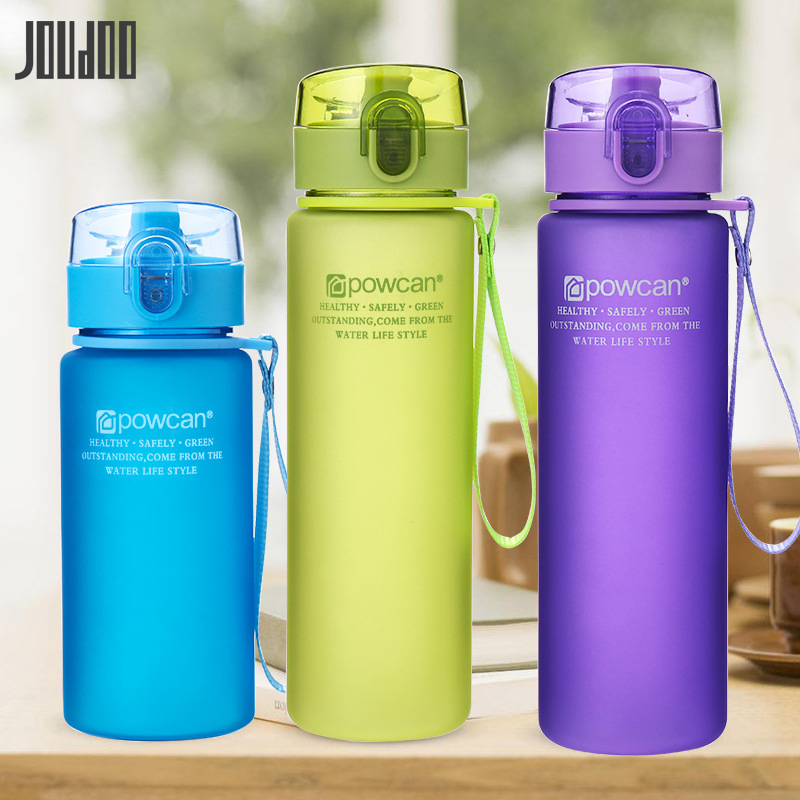 JOUDOO Water-Bottle Bicycle Tour Plastic 400ml Sports-Drinking Outdoor Portable Leak-Proof