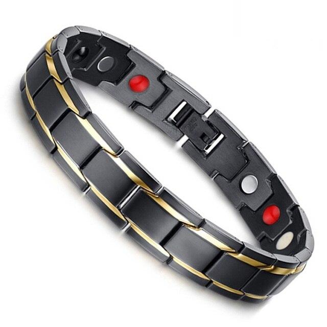 Terapêutica de Saúde Pulseira De Energia Magnética Pulseira de Corda Mão de Perda de Peso Emagrecimento Terapia Pontos de Acupuntura Anti-Celulite