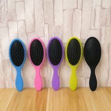 Hair Comb Brush Salon New Detangling Kids Gentle Women men Combs Tangle Wet & Dry Bristles handle Tangle Detangling Comb