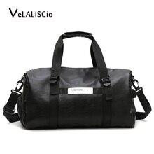 luggage bag Men Handbag Big Capacity Travel Bag High Quality PU Leather Luggage bag Men Bags Laptop Shoulder Bag цены