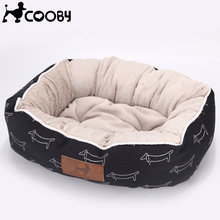 [Cooby] домашние продукты для Щенки Pet Лежанка для животных кровати собаки для больших собак кошка дом кровать собаки коврик кошка диван поставки py0103