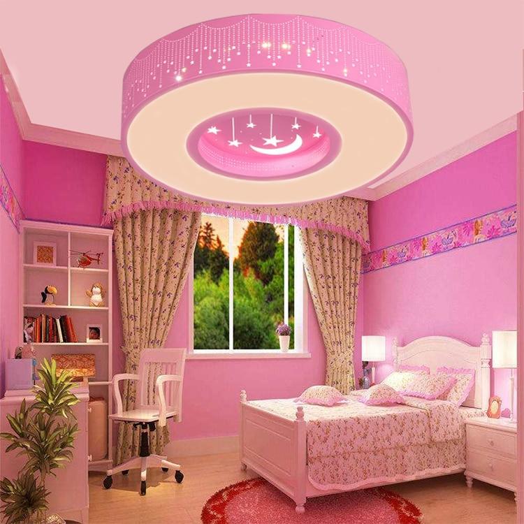 Simple Round led Children room star Ceiling Lights round ...
