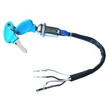 4 wire Iron Key Ignition for 2-stroke Pocket Bike