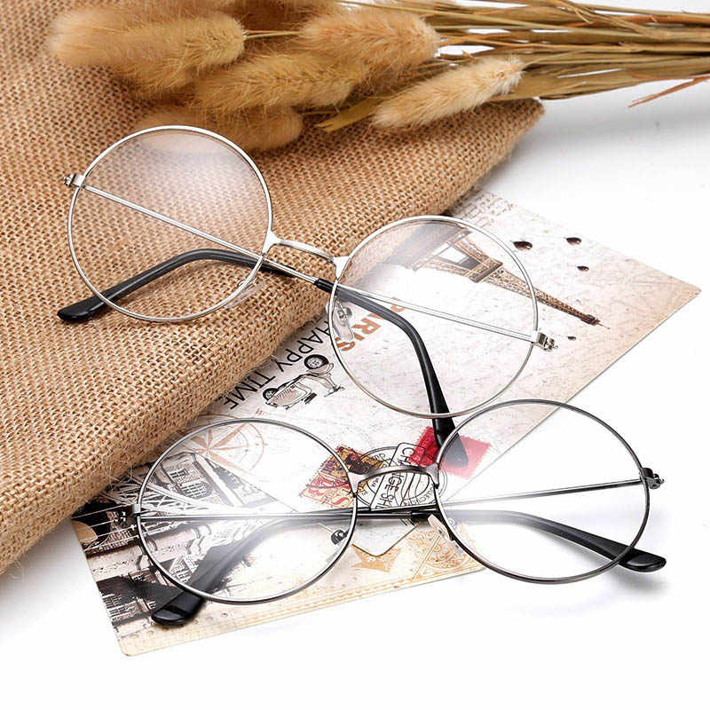 389d5da6456 Detail Feedback Questions about Metal round flat mirror Prince mirror  version Harajuku men and women decorative frame retro glasses frame on  Aliexpress.com ...
