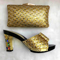2017 New Fashion Italian Shoes With Matching Bags For Party High Quality African Shoes And Bags Set For Wedding Shoe And Bag Set