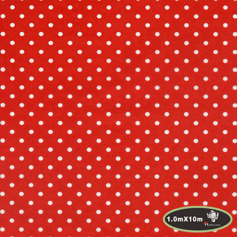 Popular Car Decoration Polka Dots Pattern Hydro Water Transfer Printing Film Hydrographic Film 1m*10m PVA Film HTMA22-2