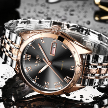 2019 Watches Men Luxury Brand LIGE Men Sports Watches Waterproof Full Stainless Steel Quartz Men's Week Watch Relogio Masculino