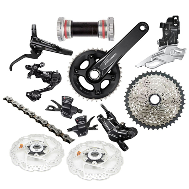 104dfca3e82 New SHIMANO Deore M6000 2x10 Speed MTB Mountain Bike Full Groupset W/Disc  Brake Set Rotor A Pair